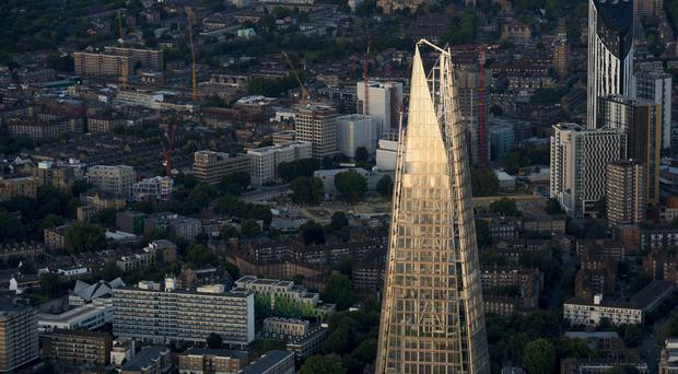 The Shard is one of the tallest buildings in Europe (PA)