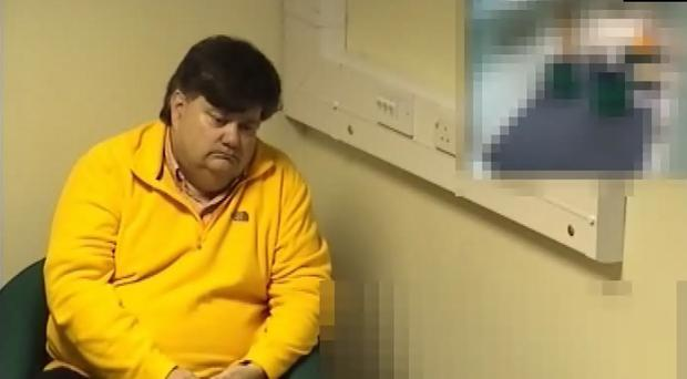Crown Prosecution Service screengrab from the video of the interview in January 2016 of Carl Beech (PA)
