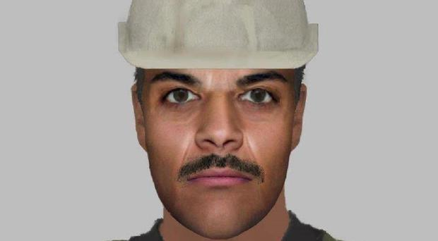 People have likened the image to Chris Kamara and a member of the Village People (Cleethorpes Community Policing Team/PA)