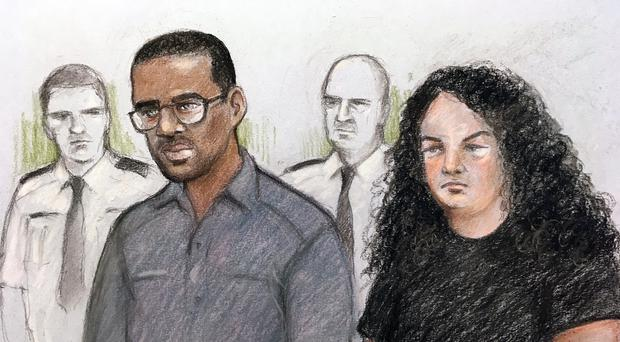 Darren Shane Pencille has been found guilty of murder at the Old Bailey (Elizabeth Cook/PA)