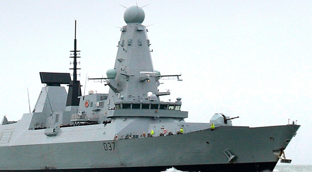 HMS Duncan is to relieve HMS Montrose