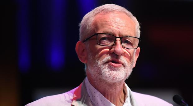 Jeremy Corbyn is under fire amid anti-Semitism claims surrounding the Labour Party (Victoria Jones/PA)