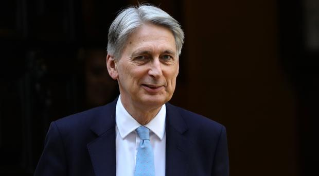 Chancellor Philip Hammond (Aaron Chown/PA)