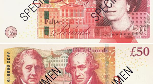 The current £50 note (Bank of England/PA)
