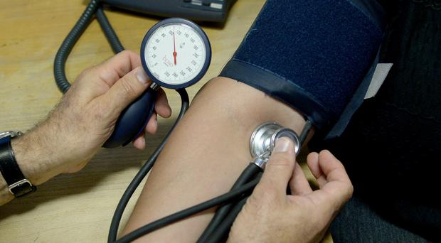 High blood pressure and cholesterol in early adulthood linked to heart disease later in life (Anthony Devlin/PA)