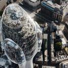 Artist's impression of The Tulip from above (Foster + Partners)