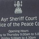The man will appear at Ayr Sheriff Court on Wednesday (John Linton/PA)