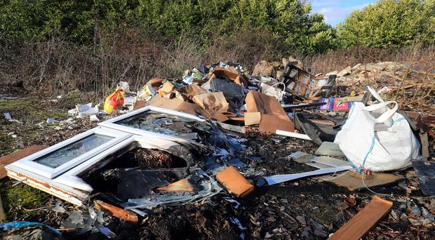 Environmental campaigners say making it easier for people to legally dispose of rubbish will cut fly-tipping (Gareth Fuller/PA)