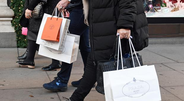 Retail sales bounced back by a healthy 1% in June (PA)