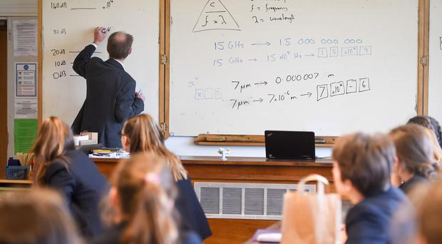 Teachers are among those who will receive pay rises, it is reported (Ben Birchall/PA)