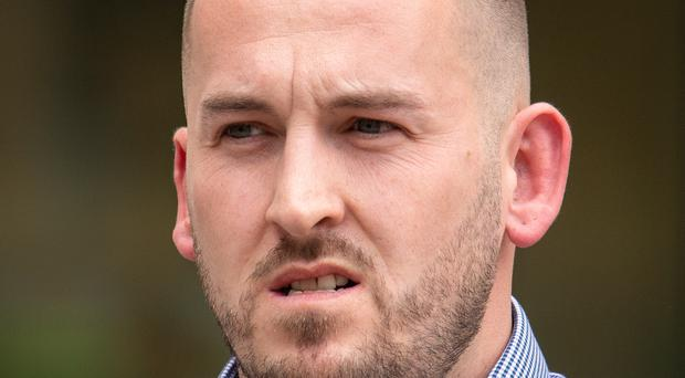 James Goddard outside Westminster Magistrates Court (PA)