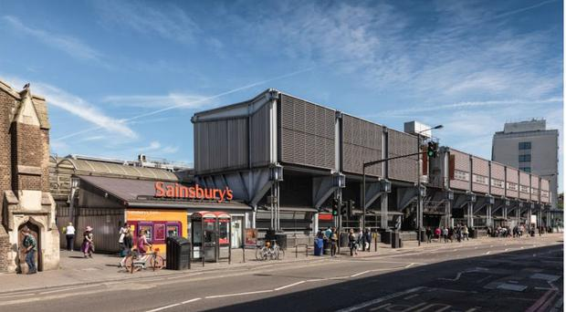 The Sainsbury's store on Camden Road (Historic England/PA)
