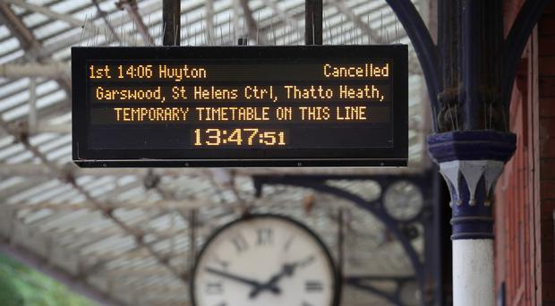 Compensation levels vary depending on the length of delay and the type of ticket held (Nick Potts/PA)