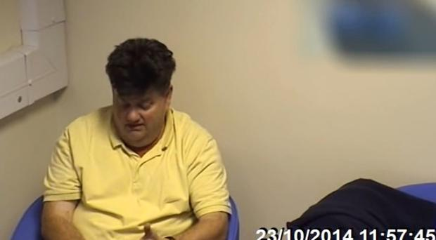 Carl Beech during a police interview