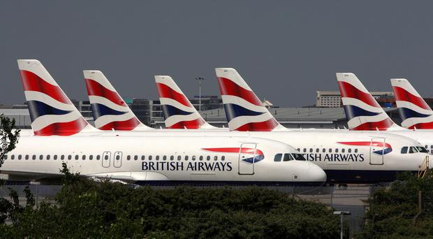 BA will seek an injunction in the High Court to halt any action (Steve Parsons/PA)