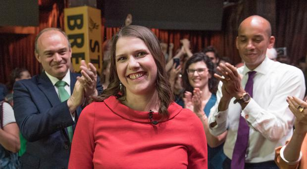 Jo Swinson is the Lib Dems' first female leader (Stefan Rousseau/PA)