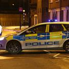 Police cordons are in place after gunshots were heard in Hackney (Jonathan Brady/PA)