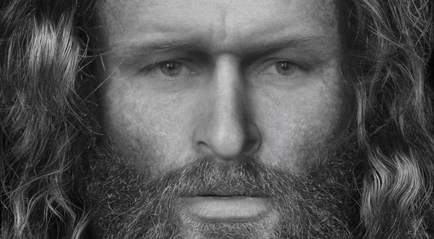 Researchers at the University of Dundee did a facial reconstruction of the Pictish man (University of Dundee)