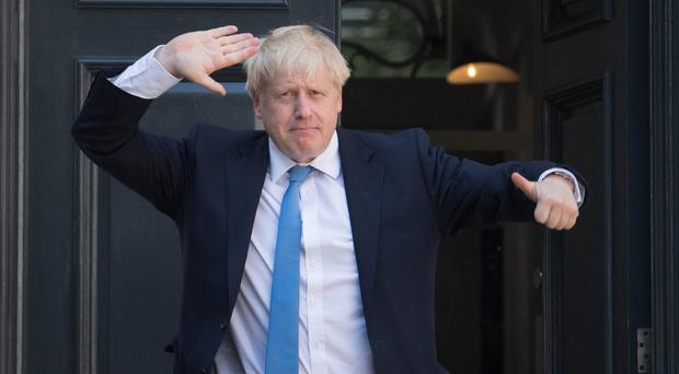 Newly elected leader of the Conservative party Boris Johnson (Stefan Rousseau/PA)