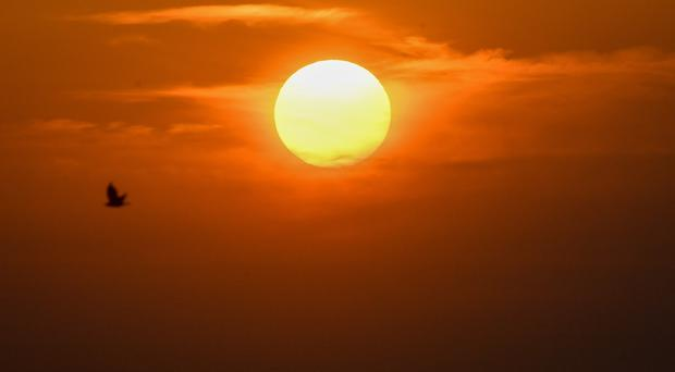 Hot air from Africa and global warming are helping drive potentially record high temperatures (Jacob King/PA)