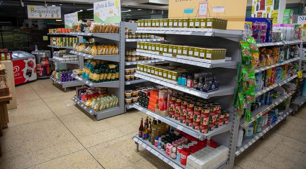 Nudge at The People's Supermarket in central London, opened to coincide with a report by the Royal Society for Public Health and Slimming World. (Slimming World/PA)