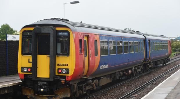 East Midlands Trains said its services to and from London will not be affected by the strike (Joe Giddens/PA)
