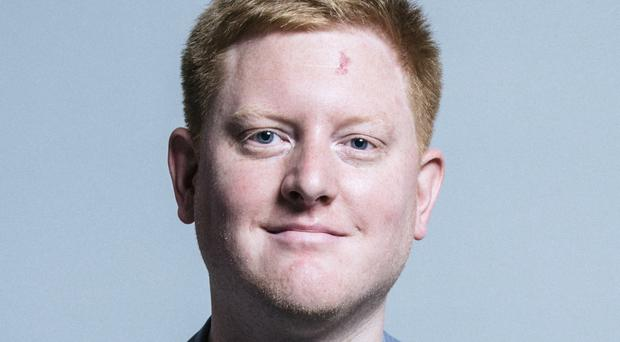 Jared o'Mara announced earlier this week that he would be taking time out from his duties (Chris McAndrew/UK Parliament/PA)