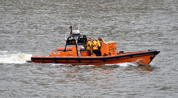 The RNLI was called out to the incident in Norfolk (Nick Ansell/PA)