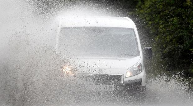 Flooding is possible in the Greater Manchester Area overnight (Joe Giddens/PA)