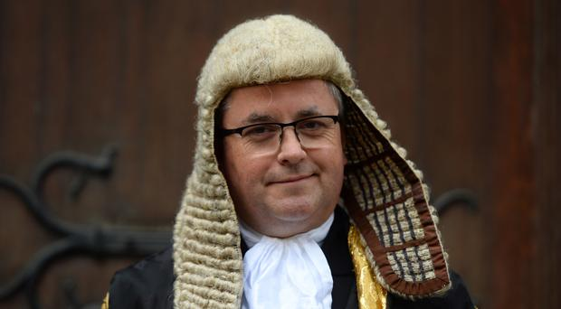 Robert Buckland QC arrives at the Royal Courts of Justice in London for his swearing in ceremony as Lord Chancellor (Kirsty O'Connor/PA)