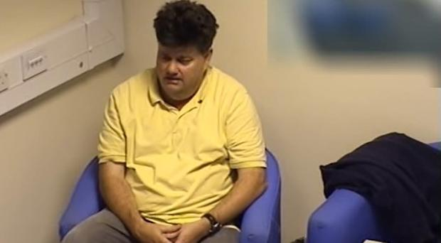 Still from a police interview with Carl Beech (CPS handout/PA)