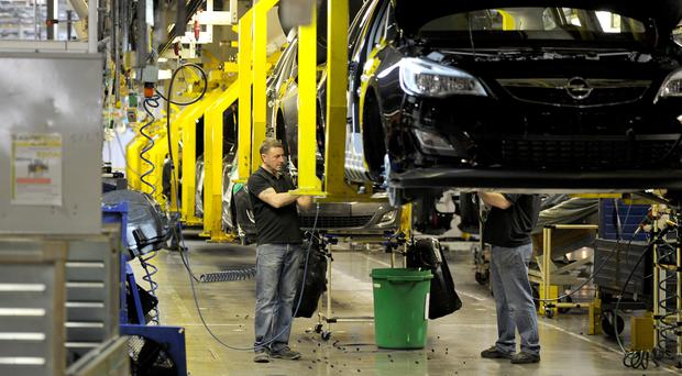 Car production has fallen by more than a fifth year-on-year in 2019 (Martin Rickett/PA)