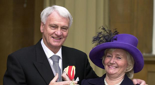 The love for Sir Bobby Robson has not diminished in the 10 years since he died, his widow Lady Elsie said (Michael Stephens/PA)