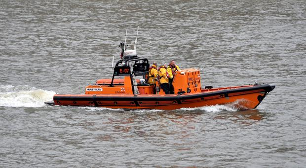 An RNLI lifeboat attended the scene (stock picture)