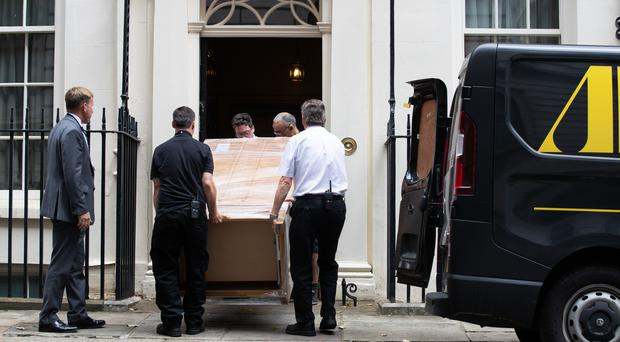The ex-display Sonoma double wardrobe was delivered to 11 Downing Street (Aaron Chown/PA)
