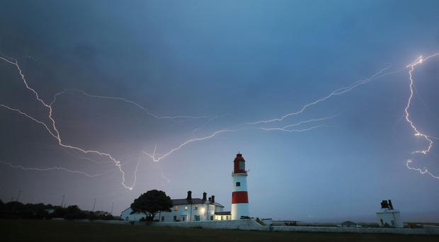 There could be more thunderstorms on the way (Owen Humphreys/PA)