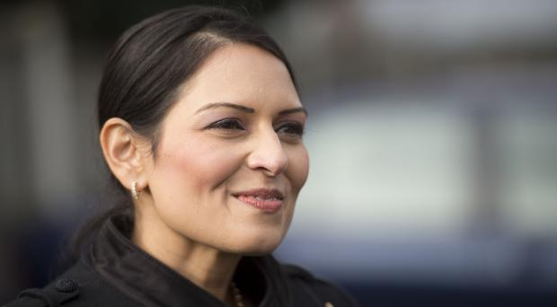 Priti Patel has walked back her previous comments about the death penalty (David Mirzeof/PA)