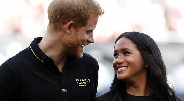 Harry reportedly whisked Meghan to Africa for her 36th birthday (Peter Nicholls/PA)