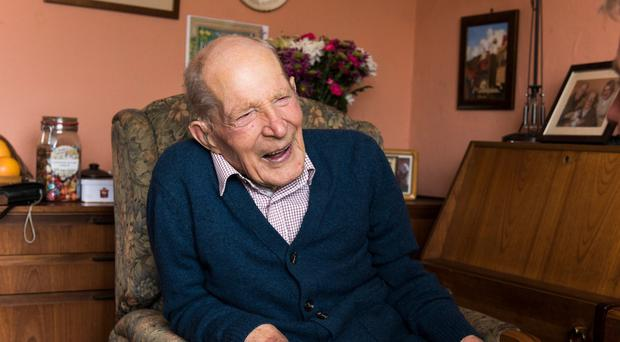 Scotland's oldest man Alfred Smith has died aged 111 (Andrew O'Brien/Church of Scotland/PA)