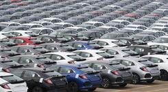 The new car market declined by 4.1% in July (Andrew Matthews/PA)