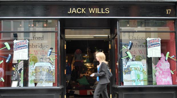 Mike Ashley has added Jack Wills to his retail empire (PA)