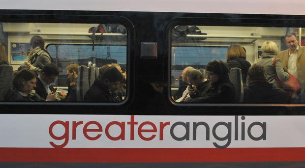 Transport Minister George Freeman was attempting to catch a Greater Anglia train from Cambridge to Attleborough
