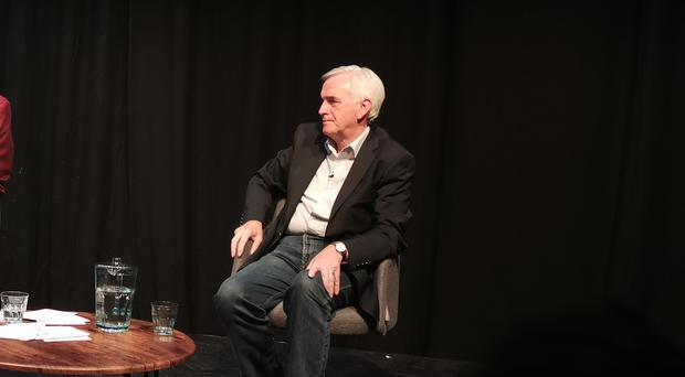 Shadow chancellor John McDonnell tells journalist Iain Dale that a Labour government would not block a second Scottish independence referendum (Tom Eden/PA)