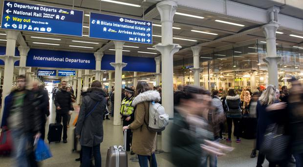 Britain is to stop being part of the Interrail scheme (Anthony Devlin/PA)