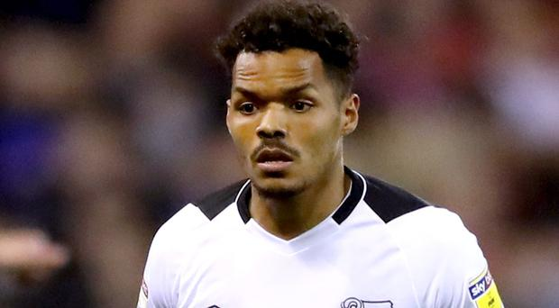 Derby County's Duane Holmes (Nick Potts/PA Wire)