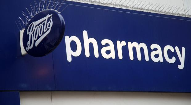 The theft was carried out at Boots on the Newtownards Road last month. (Yui Mok/PA)