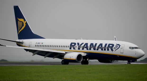Ryanair chief operations officer Peter Bellew is continuing to work out his notice period at the airline despite the carrier launching legal action against the executive. (Peter Byrne/PA)