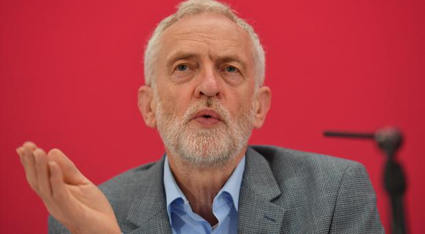 Labour leader Jeremy Corbyn says no-Brexit should not happen if October 31 falls within an election campaign (Jacob King/PA)