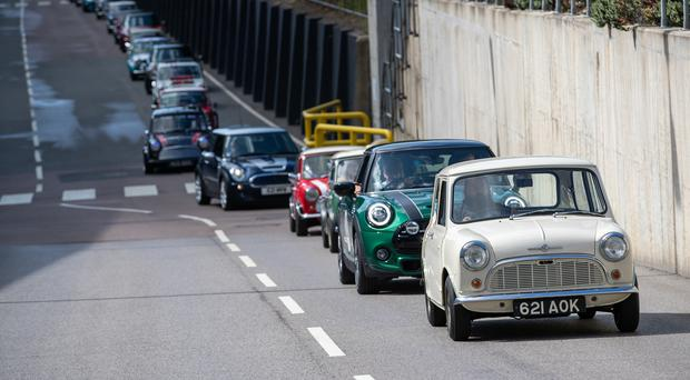 Celebrations at the Mini Plant Oxford (Aaron Chown/PA)