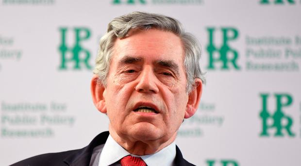 Gordon Brown fears the break-up of the UK